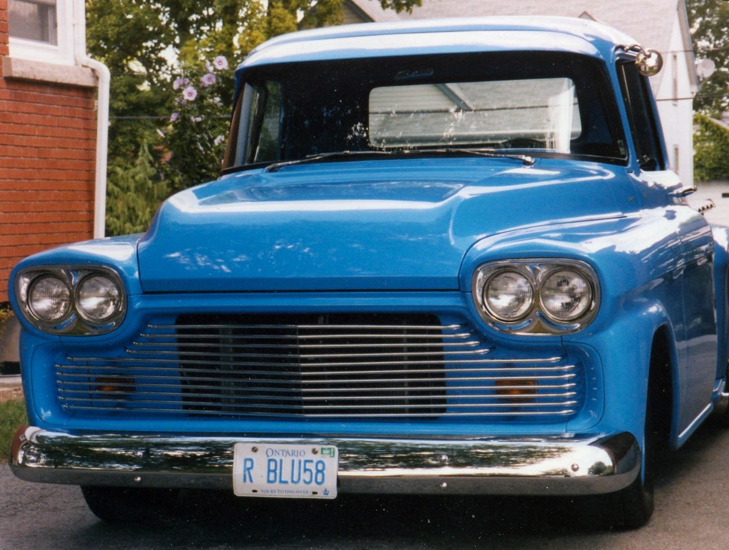 1958 Chevy Gmc Truck J W Enterprises
